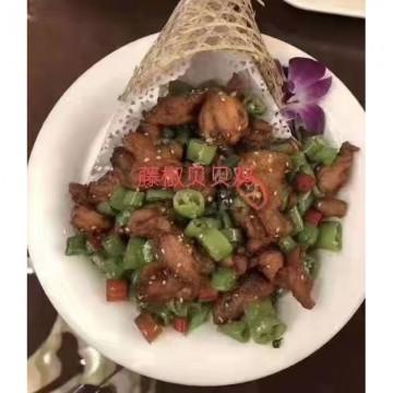 藤椒贝贝鸡