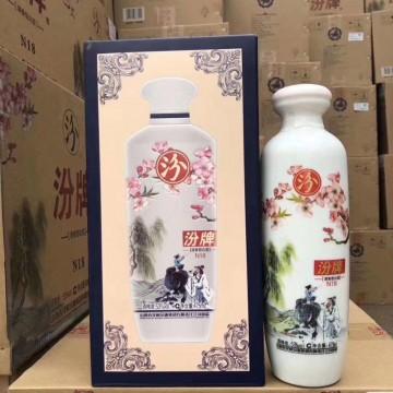 汾酒汾牌清香型白酒N18 53度475ml