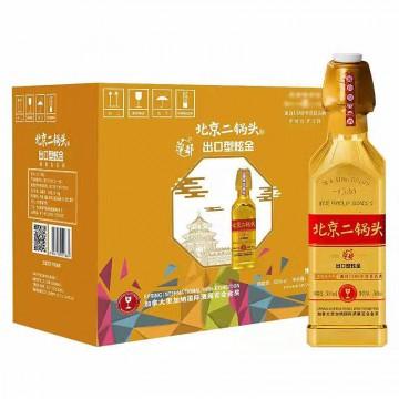 50度北京华都金瓶二锅头清香型国际出口型方瓶白酒