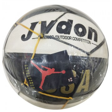 乔丹859黑白篮球
