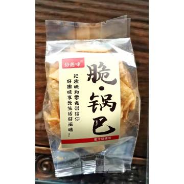 好趣味散装称重脆锅巴蜜汁烧烤味
