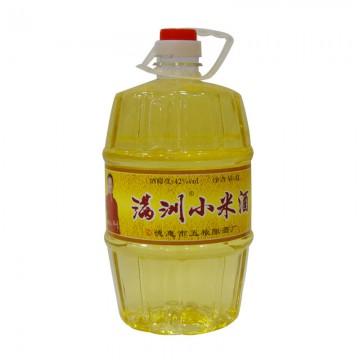 满洲小米酒42度4L