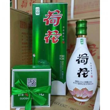 国盛荷花酒香柔酱香型53度500ml