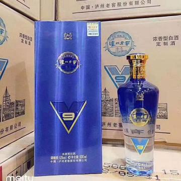 泸州老窖V9浓香型白酒52度500ml