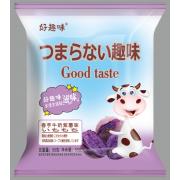 好趣味香芋牛奶紫薯味点心面