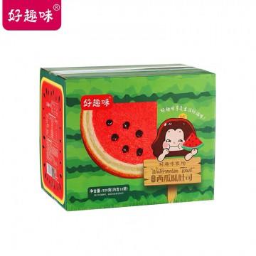 好趣味西瓜土司520克一盒