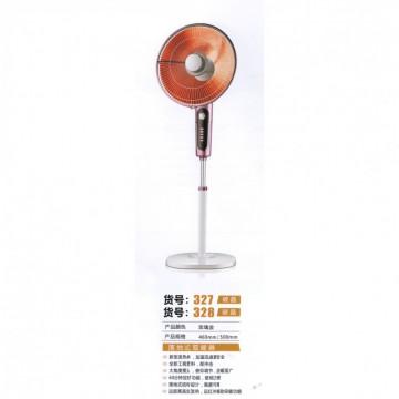 扬子落地式取暖器 玫瑰金 货号327碳晶、328碳晶