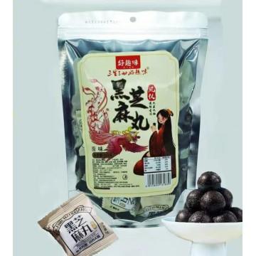 好趣味黑芝麻丸子(原味/蔗糖)